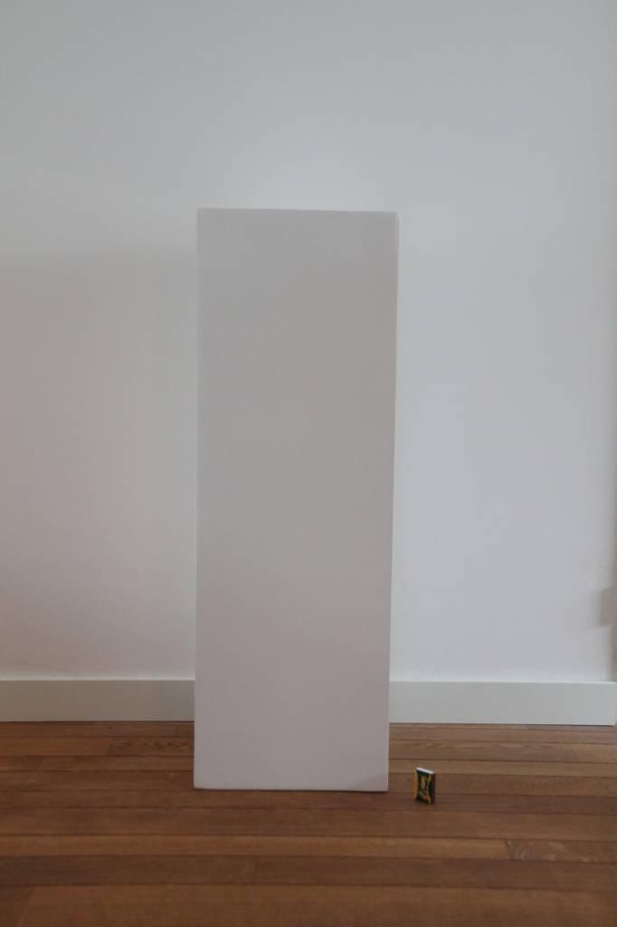 Eliassen Zuil  hoogglans Urta wit 100cm