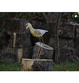 Vogel Eisen Sandpiper Kopf nach unten