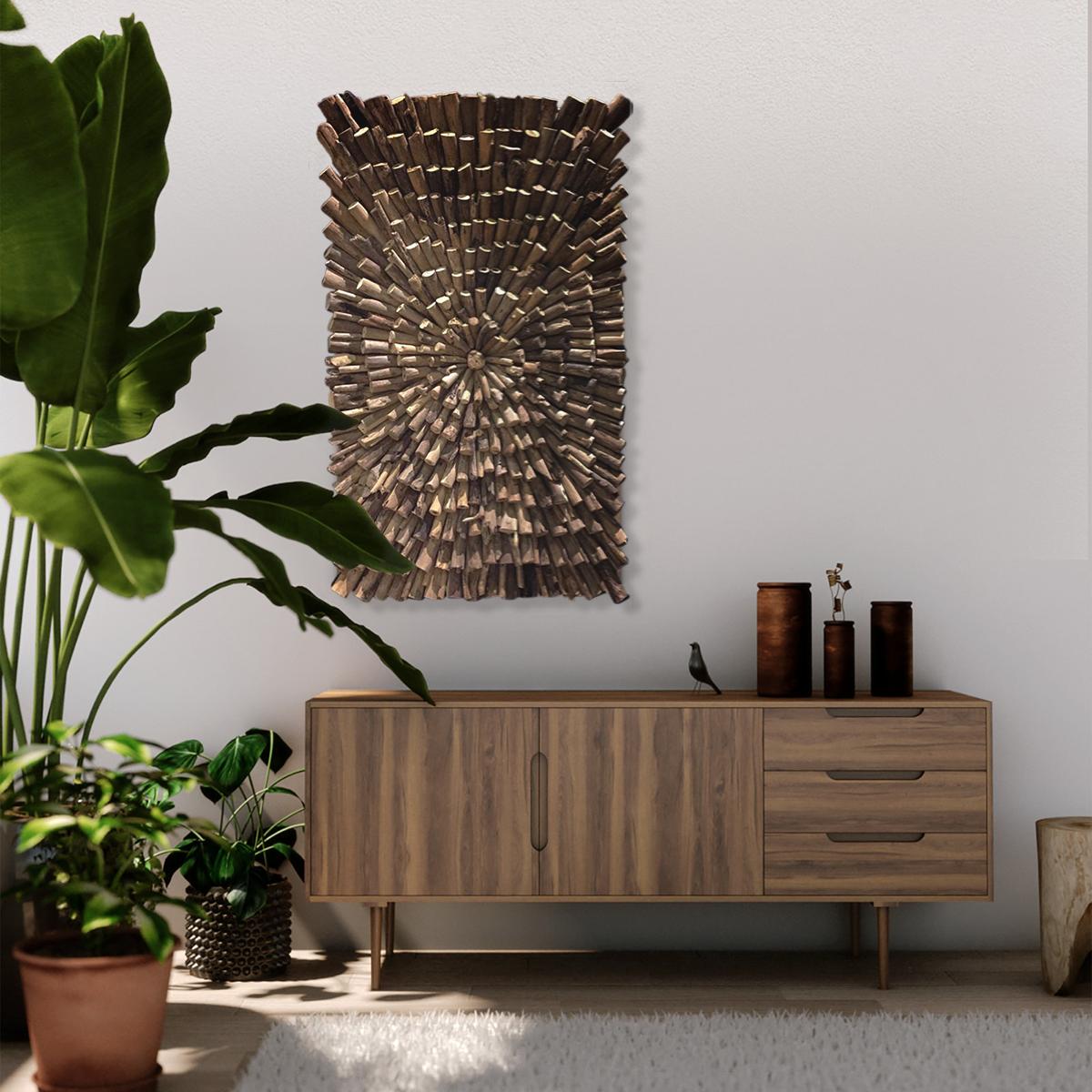 Ongebruikt Prachtige houten wandpanelen als wanddecoratie voor je huis of IH-38