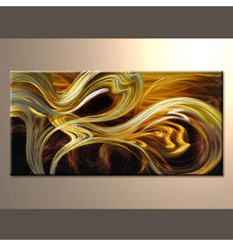 Schilderij aluminium  Flow 60x120cm
