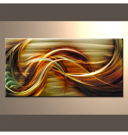 Schilderij aluminium  Omhoog  60x120cm
