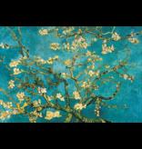 MondiArt Dibond Malerei Mandelblüte van Gogh 80x120cm
