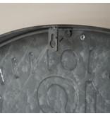 Eliassen Wanduhr groß Zinc Romike 74 cm
