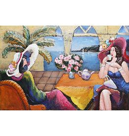Eliassen Large 3D painting metal Saint Tropez 160x105cm