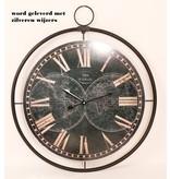 Eliassen Wanduhr groß Globe 60 cm