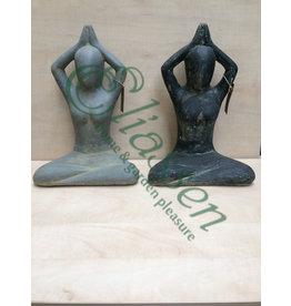 Eliassen Yogastatue Sukhasana 30 cm