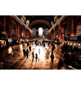 Eliassen Glasmalerei 110x160cm Station