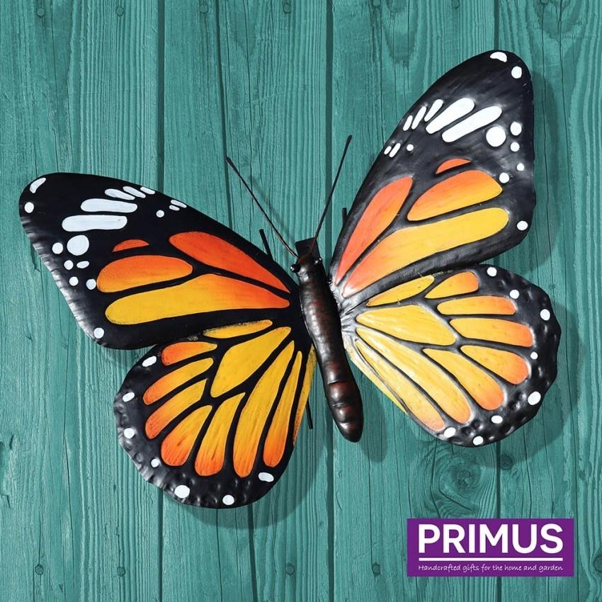 Metalen vlinder