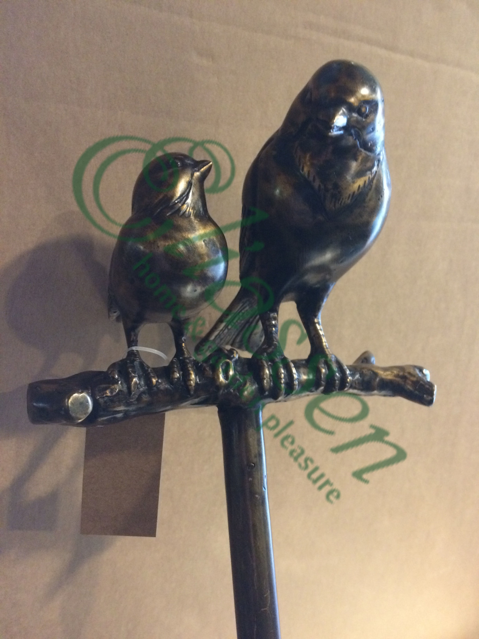 Garden plug couple sparrows