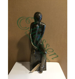 Bronzestatue Mädchen