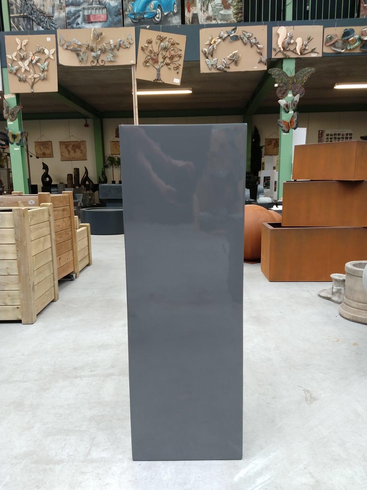 Eliassen Zuil  hoogglans Urta grijs 100cm