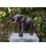 Eliassen Bronzen beeld Olifant 37cm