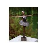 Eliassen Bronze ballerina statue 33cm