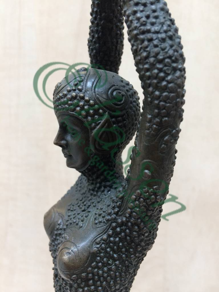 Eliassen Statue bronze woman 44 cm