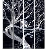 Bemalen Sie Aluminiumvierplattenbaum 120x150cm