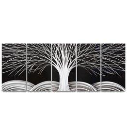 Bemalung Alu-Fünffachbaum 60x150cm