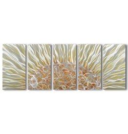 Painting aluminum five-panel beam 60x150cm