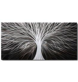 Bemalen von Aluminiumstreifen 60x120cm