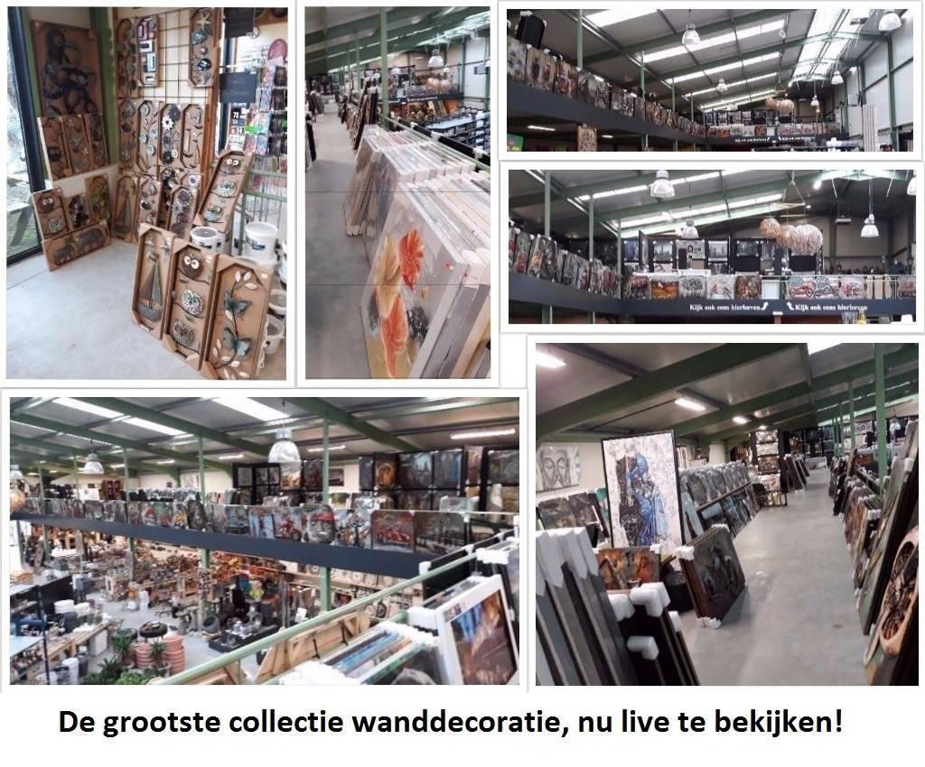 Wand decoratie 3d Blokken 100x100cm