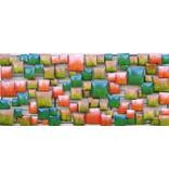 Wand decoratie 3d Blokken 60x140cm