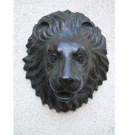 Eliassen Sprühfigur Bronze Löwenkopf