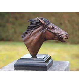 Eliassen Bild Bronze Pferdekopf