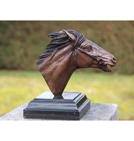 Eliassen Image bronze horse head