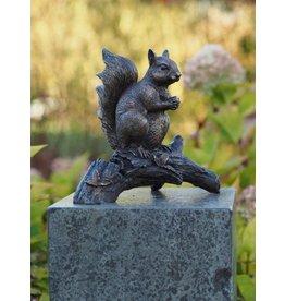 Eliassen Image bronze squirrel on branch