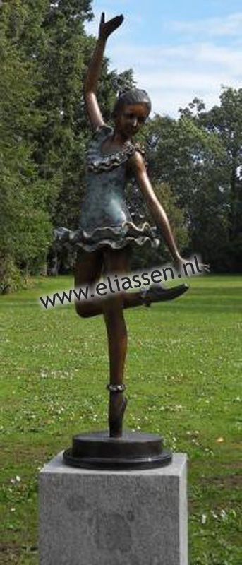Eliassen Skulptur Bronze Ballerina 138cm