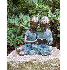 Eliassen Bild Bronze Kinder lesen