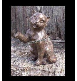 Eliassen Bild Bronze sitzend Muschi