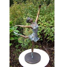 Eliassen Sculpture bronze ballerina