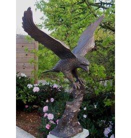 Eliassen Bild Bronzeadler mit ausgebreiteten Flügeln