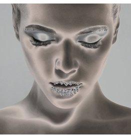 Ter Halle Glasmalerei 100 x 100 cm Gesicht in Licht