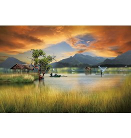 Ter Halle Glasmalerei 80 x 120 cm Bunt