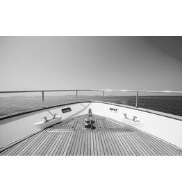 Ter Halle Glasschilderij 80 x 120 Voorkant boot