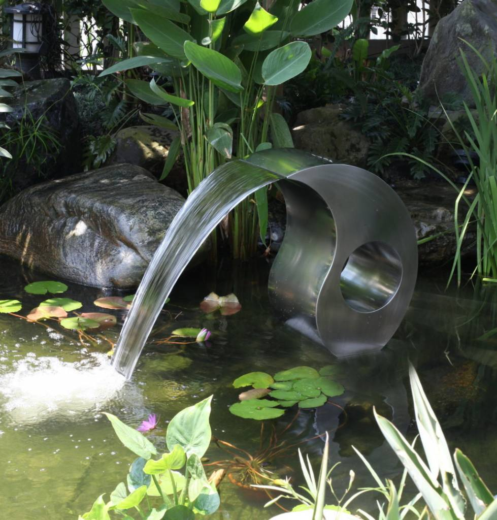 Eliassen Waterornament rvs Swing uniek model