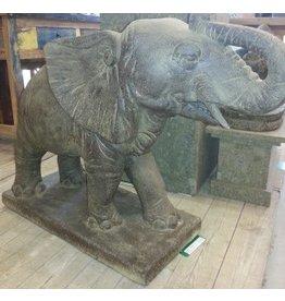 Eliassen Garden statue elephant big squirting