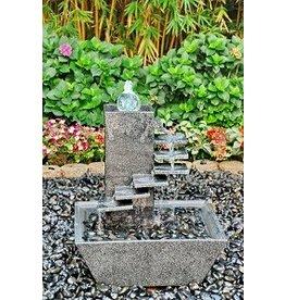 Eliassen Water ornament Demi granite
