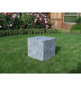 Eliassen Pedestal stone burned 40x40x40cm