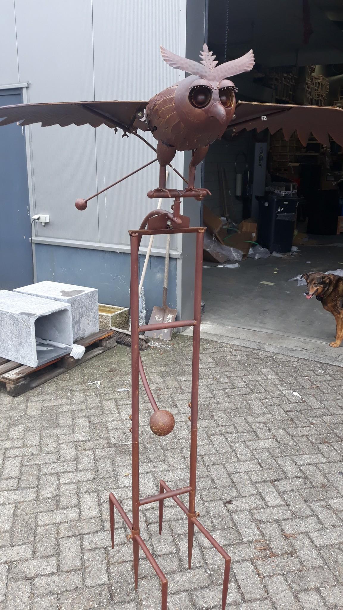 Eliassen Garden plug Owl super large