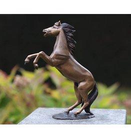 Eliassen Image bronze small prancing horse
