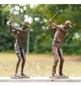 Eliassen Image bronze golfer lady or man