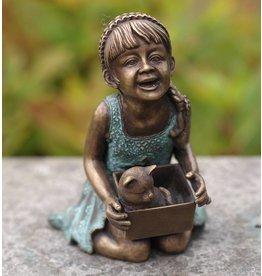 Eliassen Lächelndes Mädchen des Bildbronzes