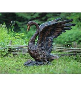 Eliassen Bild Bronze Schwan