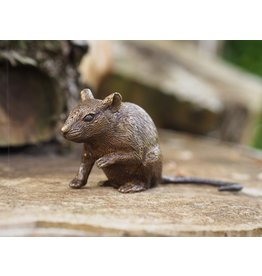 Eliassen Bronze mouse paw figurine up