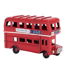 Eliassen Miniature model double decker can