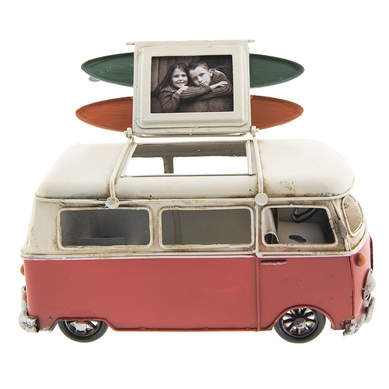 Eliassen Miniaturmodell kann Bus mit Fotorahmen