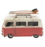 Eliassen Miniatuurmodel blik Bus met fotolijstje