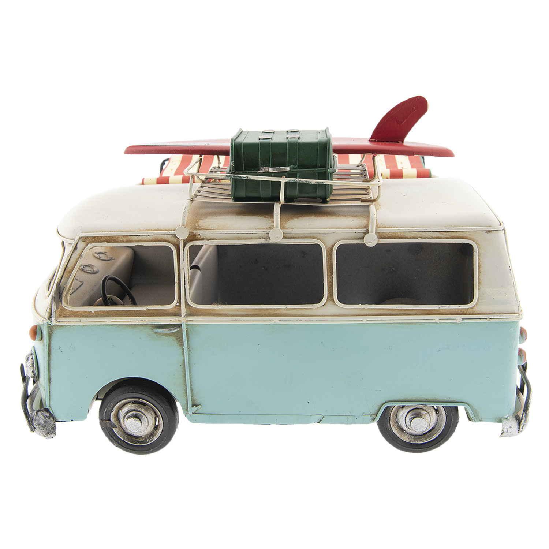 Eliassen Miniatuurmodel blik Camper met luifel